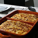 recette Lasagne aux Chicons et Jambon Cru Gratinée au Morbier