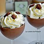 recette Crème à la pâte à tartiner chocolat-noisette-citron-coriandre, sans farine et sans oeufs