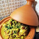 recette Poulet olives et citron confit pour 2 pers