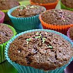 recette Mini-brownies noisettes et amandes...