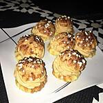 recette Chouquettes a la crème de mascarpone caramel