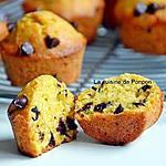 recette Muffin à la compote de citrouille et gingembre aux pépites de chocolat