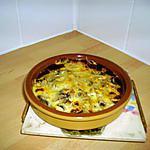 recette gratiné de champignons