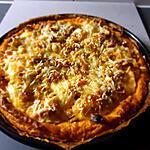 recette Tarte au saumon  frais et aux poireaux