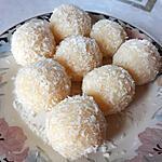 recette Ladoo coco (boules de coco et lait condensé)
