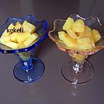 recette Ananas frais aux épices