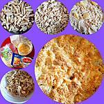 recette Gratin de pâtes avec des restes