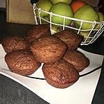 recette Muffins a la compote et au chocolat