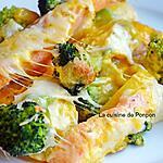 recette Saumon, pommes de terre, brocoli à la sauce coco curry