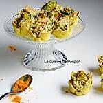 recette Amuse bouche au saumon et brocoli