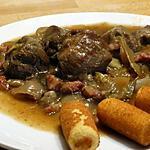 recette Joues de Porc à la Brabançonne