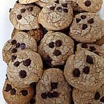 recette cookies chocolat au lait et pépites de chocolat