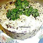 recette Millefeuille de chou rouge