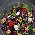 recette Choux rouge en salade