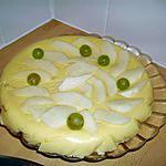 recette bavarois aux poires