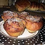 recette Roulés feuilletés a la cannelle