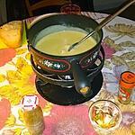 """recette Fondue au fromage de la Vallée de Joux (Suisse), ou """"fondue sans soucis"""""""