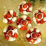 recette fraises chantilly