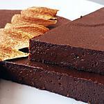 recette Fondant au chocolat noir + potimarron + haricots rouges azuki