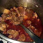 recette Mijoté de bœuf au vin rouge
