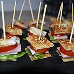 recette Croque-Bouchées façon Burger