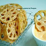 recette Chips de racine de lotus, végétarien