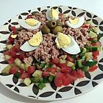 recette Salade méditerranéen