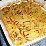 recette Gratin de pommes de terre à la boulangère