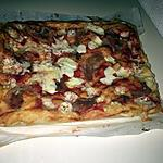 recette Focaccia tomate jambon fromage