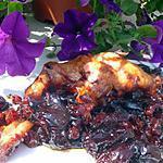 recette lapin aux pruneaux et raisins de corinthe