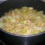 recette Fricassée de chou chinois Pe Tsai