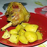 recette Souris D'Agneau Aux Épices Caramélisées Au Miel
