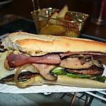 recette Frenchy's Burger ( aux Champignons de Paris )
