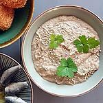 recette Caviar d'aubergine aux algues et crème de sésame (tahin ou tahini)