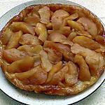 recette tarte renversé aux pommes