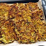 recette Galettes de pomme de terre