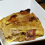 recette Gratin de Lasagnes aux Morilles et Parmesan