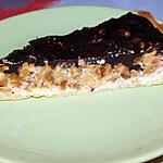 recette Tarte Chocolatée Aux Cacahuètes Caramélisées