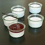 recette panna cotta végan à la crème de coco et au lait d'amande