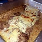 recette Côtes de porc gratinées au four