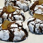 recette Craquelés au Chocolat Noir et Citrons Confits