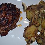 recette steak haché au chorizo et pommes sautées de la mama