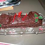 recette Bûche de Noël au chocolat