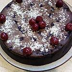 recette fondant au chocolat et griottes