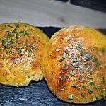 recette Mes Petits Pains Burger ( au parmesan , basilic et origan )