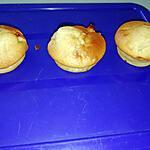 recette Doux muffins au coeur fondant de pommes