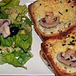 recette CrOques Forestier gOurmand