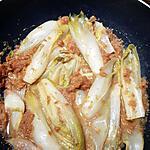 recette Endives braisées à l'orange et au pain d'épices