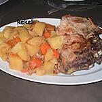 recette Rôti de porc à la moutarde au cookéo