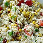 recette Salade de Riz
